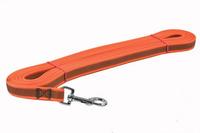 Vodítko stopovací pogumované 15mm/10m oranžové