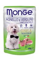 Monge Grill 100g kapsička jehněčí se zeleninou