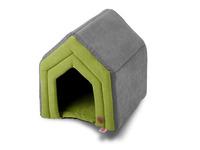 Domek Strong zelený vel. M 45x40x47