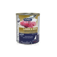 Dr.Clauders 800g Lamm+Reis pes