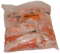 Losos krmný kousky 1kg Rybaspol