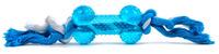 Kost+bavlněný uzel modrý
