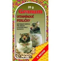 Vitamínové perle 20g křeček