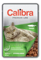Calibra Cat 100g kapsa Premium Sterilised Salmon