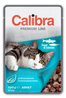 Calibra Cat 100g kapsa Premium Trout & Salmon