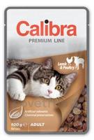 Calibra Cat 100g kapsa Premium Lamb&Poultry