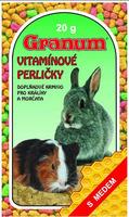 Vitamínové perle 20g králík+morče