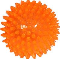 Míč s bodlinkami nepískací oranžový