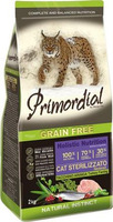 Primordial Cat 2kg Adult Sterilizzato Turkey & Herring