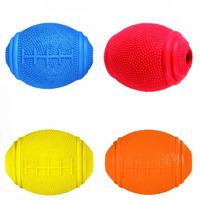 Rugby míč na pamlsky 8cm tvrdá guma Trixie