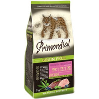 Primordial Cat 2kg Kitten Duck & Turkey