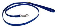 Vodítko textil 10mm/120cm modré