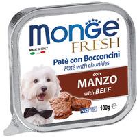 Monge Fresh 100g paštika hovězí