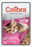 Calibra Cat 100g kapsa Premium Kitten Turkey&Chicken