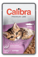 Calibra Cat 100g kapsa Premium Kitten Salmon