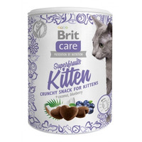 Brit Care cat snacks Superfruits Kitten 100g