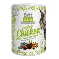 Brit Care cat snacks Superfruits Chicken 100g