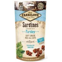 Carnilove cat sardinky s petrželí 50g