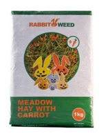 Seno luční s mrkví RabbitWeed 1kg 40l