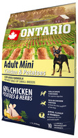 Ontario 2,25kg Adult Mini Chicken&Potatoes