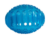 Rugby míč z trvdé gumy Magnum