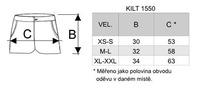 Sukně KILT XL-XXL žlutá