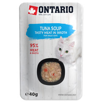 Ontario Cat Soup 40g Tuna with vegetables
