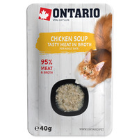 Ontario Cat Soup 40g Chicken with vegetables