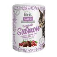 Brit Care cat Snacks Superfruits Salmon 100g