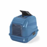 WC kočky Easy Cat modrá 50x40x40cm