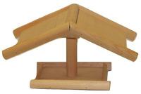 Krmítko venkovní na nožce dřevěné