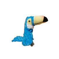 Tukan modrý 18cm textil Salač