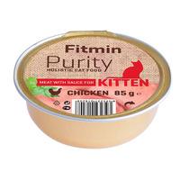 Fitmin Cat Purity 85g alutray Kitten Chicken