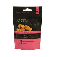Fitmin for Life cat 50g biscuits tuňák&sýr